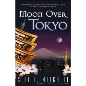 Moon over tokyo, Siri Mitchell, book review, book reviews, Christian fiction, inspirational fiction, Christian novel, Japan