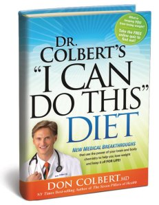 I Can Do This Diet by Don Colbert, I can do this diet, can do diet, don colbert m.d., dr. don colbert, dr. colbert, don colbert, i can do this diet book review, christian diet, christian diets