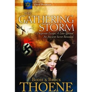 The Gathering Storm by Bodie and Brock Thoene, thoene, gathering storm, bodie thoene, christian fiction, world war ii fiction, world war 2 fiction, inspirational fiction, world war II novel, inspirational novel, zion diaries