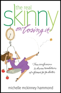 Real Skinny on Losing It, michelle mckinney hammond, book review, diet book, christian diet book, weight loss