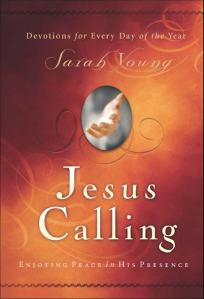 Jesus Calling by Sarah Young, Sarah Young, devotional, book review